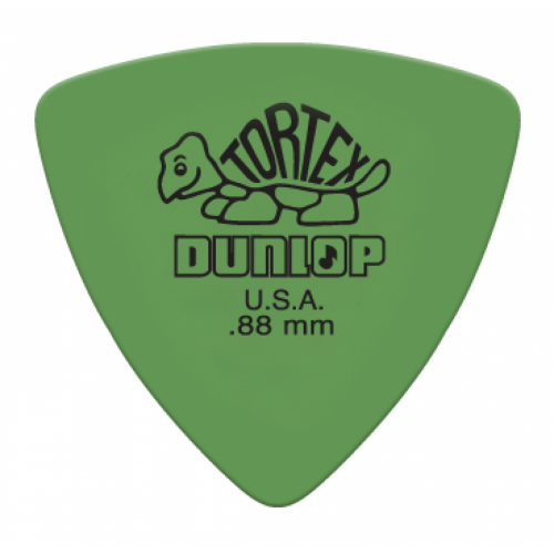 Jim Dunlop Tortex Triangle 0.88mm verde
