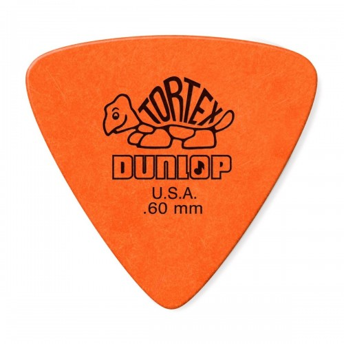Jim Dunlop Tortex Triangle 0.60mm naranja