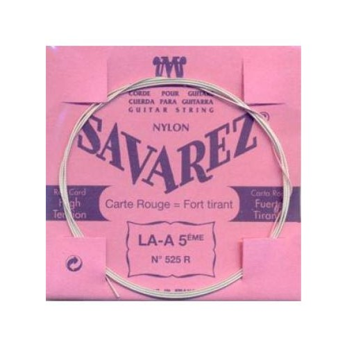 Cuerda Savarez Clásica 5a Carta Roja 525-R