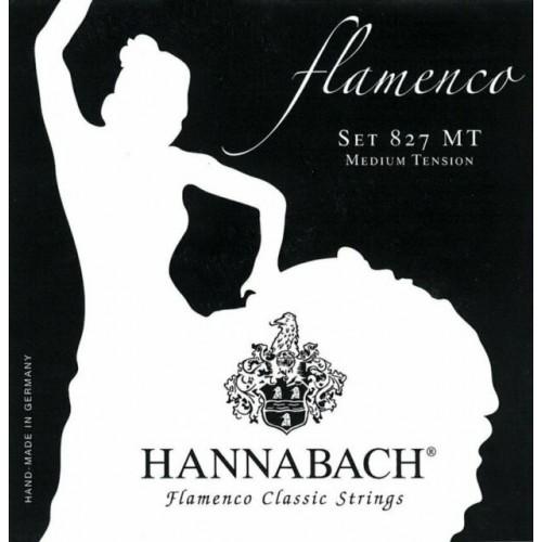 Juego de cuerdas Hannabach Flamenco 827MT