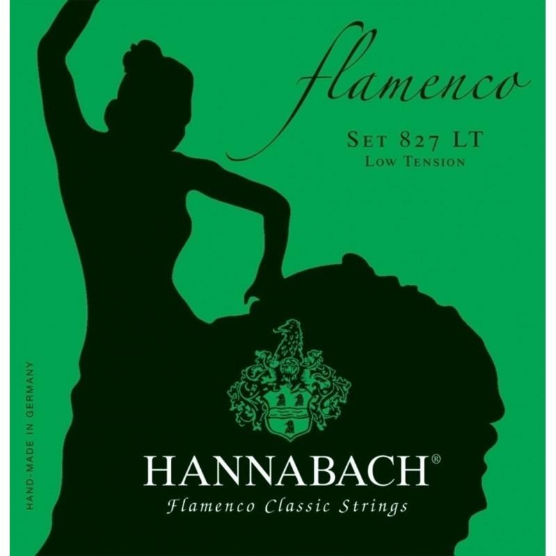 Juego de cuerdas Hannabach Flamenco 827LT